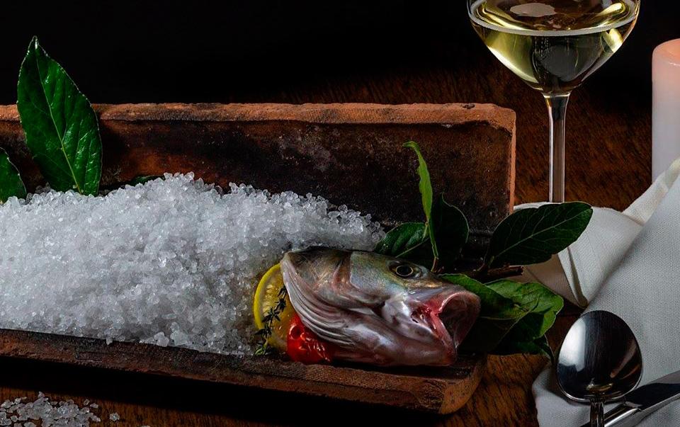 ristorante il tegolo livorno pesce alla tegola degustazione